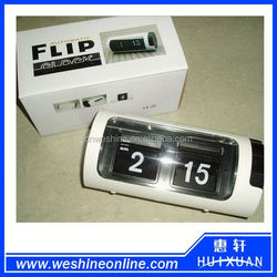 Promotion gift table flip clock