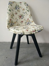 Fabric dinner chair leisure chair poltrona silla de lounge chair sedia tool