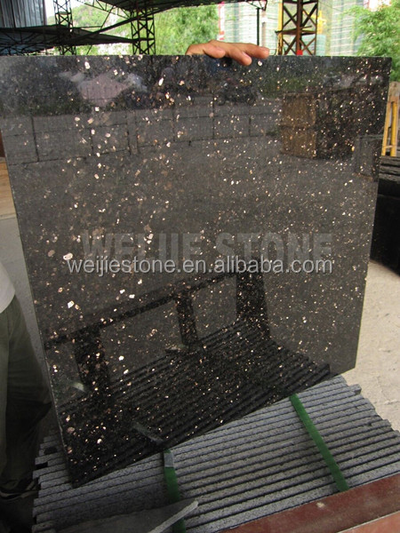 granit noir galaxy grande star 60 x 60 cm carrelage mural de plancher granite id de produit. Black Bedroom Furniture Sets. Home Design Ideas