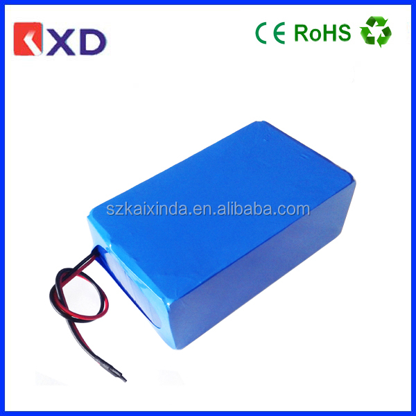 KXD 12v 30ah lifepo4 battery pack for lights
