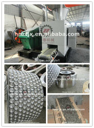 High efficiency coal ball making production line/coal pressing machine design