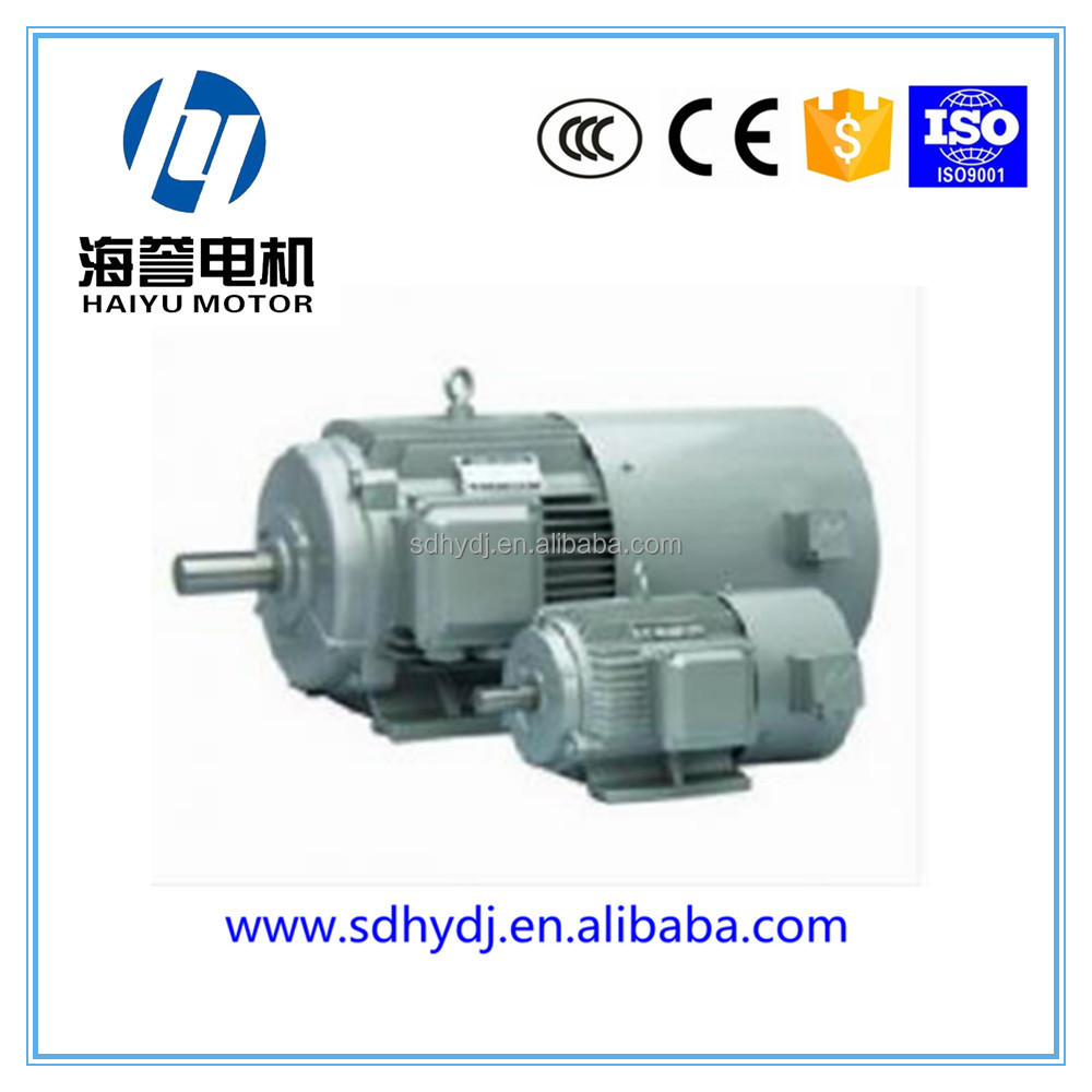 Ie3 Electric Motor Single Phase Two Speed Electric Motor