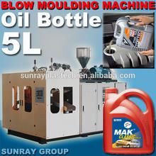 5 litro de plástico bidones/garrafas la producción de moldeo por soplado de la máquina
