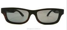 small frame wooden Sunglasses with spring hinge CE&UV400