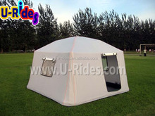 folding air-sealed inflatable tent for camping