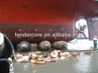 Salvage ship wreck marine airbag(for barge heave lifting and launching landing)