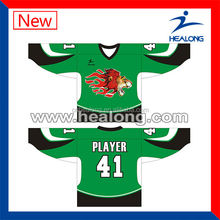 Professional factory for custom Sublimation ice hockey