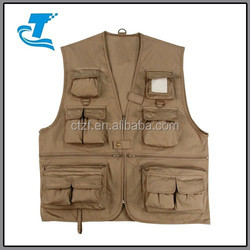 Winter Rip-stop Out wear unisex Fishing Vest 2016