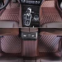 Full set auto carpet leather carpet for car for Fiat 500