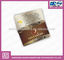 pvc contact smart card with chip