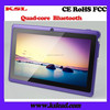Free OEM brand 3D game 7 inch smart android tablet pc