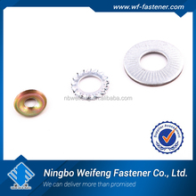 Top quality flat Washer DIN125A/DIN9021 Factory direct price Zinc plated Flat washer DIN125 Galvanized flat washer