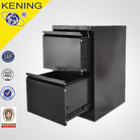 Metallic steel fire proof file cabinet for hanging files