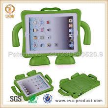 Kid Friendly Suspender Guy Anti Shock EVA Stand Case for Apple iPad 3