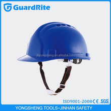 Guardrite brand High Quality blue safety helmet