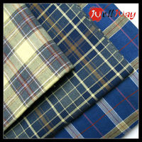 Wholesale 100 cotton yarn dyed check flannel fabric uk