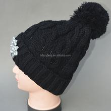 knitting wool hat/letter jacquard men beanie hat/monogram beanie hat knitting pattern