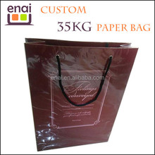Max 35KG for heaving packing like rice and flour waterproof and awshable kraft paper bag wholesale