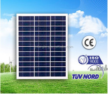High Quality High Voltage Pv Solar Cell Poly Solar Panel