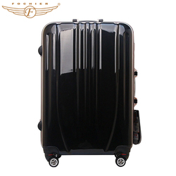 24 inch ABS/pc hard shell luggage trolley