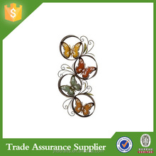 2015 New product Metal Butterfly Wall Art Decor for sale