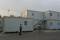 cheap prefab shipping container house with luxury design