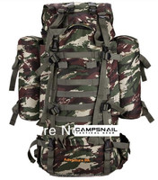 Large Capacity 80L Camouflage Army Mountaineering Bag,Outdoor Camping Rucksacks,Hiking Tactical Backpack.