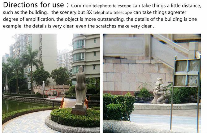 universal clip lens instructions