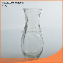 Best quality most popular drum belly glass vase