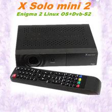Satellite Decoder Processor X Solo Mini 2 Enigma 2 Linux OS X Solo2 mini DVB-S2,iPTV streaming,You Tube X Solo mini2