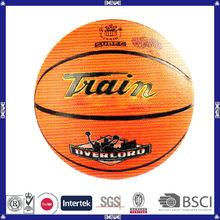 China good quality customized logo rubber basketball