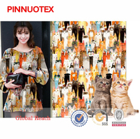 2015 custom digital and traditional london wax print fabric