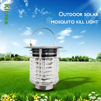 DEALPEAK Solar LED Path Light Anti Mosquito Outdoor Garden Fence Landscape Lawn Lighting Lamp Powered Auto Sensor