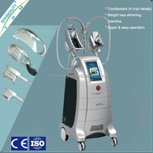 Vertical Cryolipolysis Cellulite Reduction Machine with 4 Handles