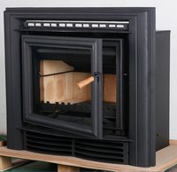 Indoor wall mounted fireplaces