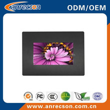 Industrial 8 inch all in one pc with touch screen and LED backlight