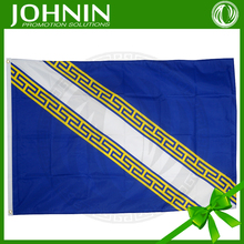polyester fabric promotional customized 3x5 champagne ardenne flag