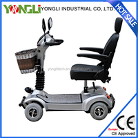 Portable mobility 4 wheel hot sell electric scooter