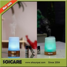 2014 SOICARE New arrivaling real wood&glass aroma humidifier & aromatherapy diffusers