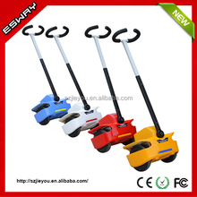 Newest type ES03 CE/RoHS/FCC approved chariot electric step scooter with 2 front small wheels motorcycle
