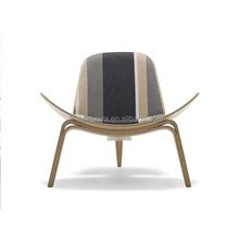 Hot Selling Fashionable Shell Chair with Bendwood for Dining Room Furniture