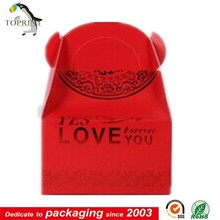 Decorate Wedding Favor Box Red Wedding Favor boxes
