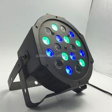 Wholesale price par led 18*1W RGB flat mini Led Par Light
