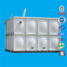 Pressure Modular FRP smc Sectional combined panel storage water tank