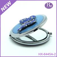 HX-6445 Round acrylic centerpiece make up high reflective acrylic mirror wholesale
