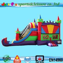 Fun House Castle Combo with Basket ball Hoop on inside 3N1 combo