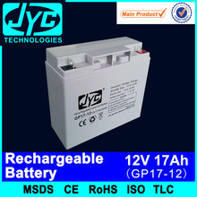 rechargeable high power battery for electric bike