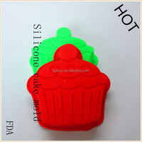 Pastry puff Muffin jelly pudding ice cube fondant An crown silicone cupcake Wedding Cake Mould baking equipment