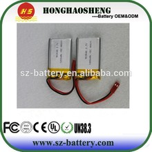 New selling !!! Rechargeable li-polymer 903048 25C li-ion battery 3.7v 1200mah RC helicopter