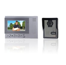 Popular in UK, China Shenzhen GOODWILL smart video intercom door phone with 4.3 inch LCD , 2 outdoor camera, high cost-effective